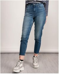 Tommy Hilfiger Gramercy Tapered Mao Jeans - Blue