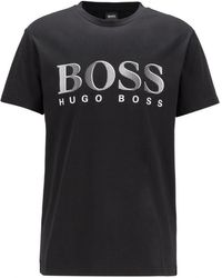 BOSS by Hugo Boss T-shirt Rn Logo - Black