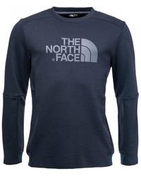 The North Face Vista Tek L/s Graphic Top - Blue
