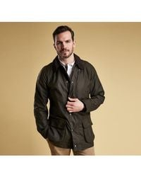 Barbour Bristol Waxed-cotton Jacket - Green