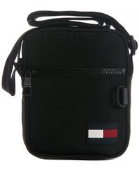 Tommy Hilfiger Tommy Mini Reporter Bags - Black