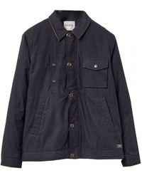 Parka London Cord Collar Jacket - Black