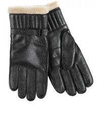 Barbour Leather Utility Glove - Black