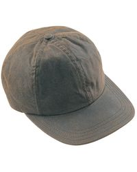 Barbour Wax Sports Cap - Green