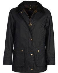 Barbour Acorn Wax Jacket - Blue