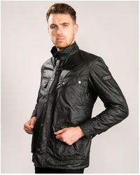 Barbour Duke Wax Jacket Black