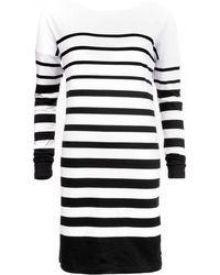 Maison Scotch - Breton Striped Womens Dress - Lyst