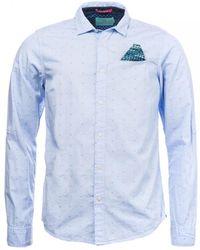 Scotch & Soda Regular Fit Shirt - Blue