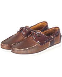 Barbour Capstan Shoe - Brown
