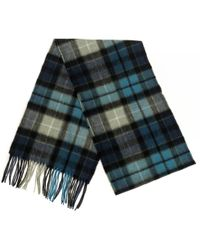 Barbour - New Check Tartan Scarf - Lyst