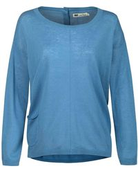 Seasalt Impasto Ladies Jumper (ss16) - Blue
