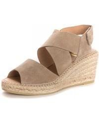 Kanna - Ania Cortina Wedged Strap Sandals - Lyst