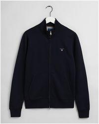 GANT Evening Original Full-zip Cardigan 2048004 - Blue