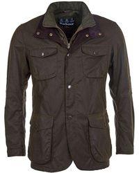 Barbour Ogston Mens Wax Jacket - Green