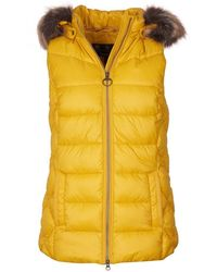 Barbour Irving Gilet - Yellow