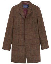 Joules - The Top Tweed Mens Coat (v) - Lyst