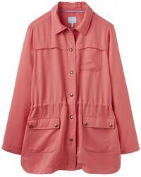 Joules Cassidy Safari Womens Jacket (y) - Red
