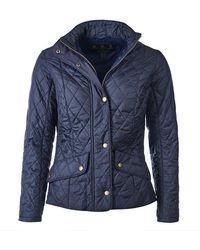 Barbour - Flyweight Cavalry Quilt - Lyst