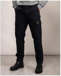 Lyle & Scott Cargo Trousers - Blue