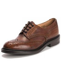 Tricker's Bourton Shoe In Caramel Kudo - Brown