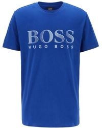 BOSS by HUGO BOSS T-shirt Rn Logo - Blue