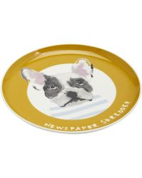 Joules Single Porcelain Printed Side Plate S/s - Metallic