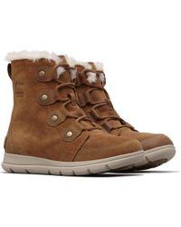 Sorel Explorer Joan Womens Boot - Brown