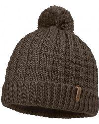 Schoffel Knitted Womens Dublin Hat - Brown