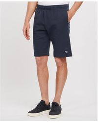 Barbour Essential Jersey Shorts - Blue