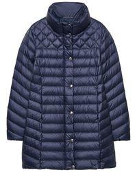 GANT Light Down Ladies Coat - Blue