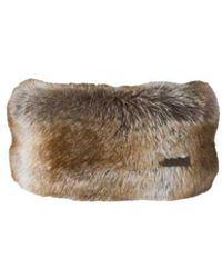 Barts Fur Headband - Natural
