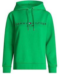 Tommy Hilfiger Regular Hilfiger Essential Hoodie - Green