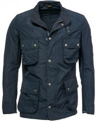 Barbour Weir Casual Mens Jacket - Blue
