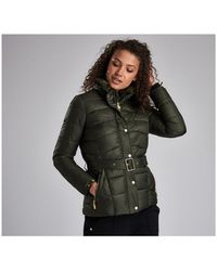 Barbour Circuit Quilted Womens Jacket - Multicolour