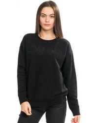Napapijri Berber Wom C Sweatshirt - Black