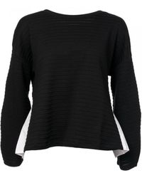French Connection Fredia Jersey Scoop Pleat Back - Black