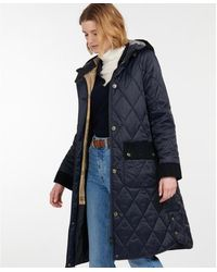 Barbour Mickley Quilted Jacket - Blue