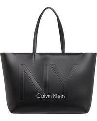 Calvin Klein Must Psp20 Medium Shopper - Black