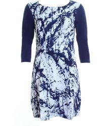 Thought Jackson Dress - Blue