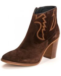 Kanna Adele Baby Silk Boot - Brown