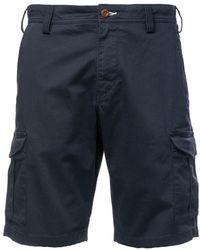 GANT O1. Relaxed Twill Utility Shorts - Blue