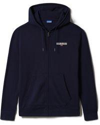 Napapijri B-ice Fzh Zip Sweatshirt - Blue