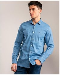 Tommy Hilfiger Flex Denim Shirt - Blue