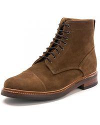 Grenson Joseph Cigar Shoes - Brown