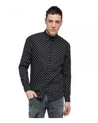 Replay Shirt M4947 .000. - Black