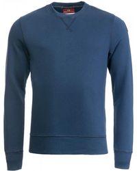 Parajumpers Caleb Basic Mens Sweatshirt - Blue