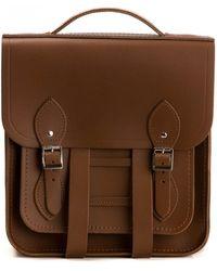 Cambridge Satchel Company Small Portrait Backpack - Brown