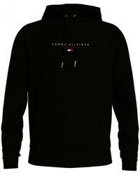 Tommy Hilfiger Essential Tommy Hood Hoodie - Black