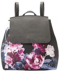 694e74ea3e19 adidas Originals Roll Top Printed Backpack in Black - Lyst