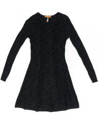 BOSS Casual Willabelle Womens Jumper Dress - Black
